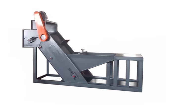 AKS-1B Magnetic metal parts conveyor feeder