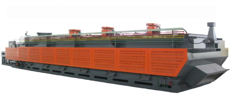 Continuous atmosphere controllable mesh belt conveyor hardening(carburization) furnace