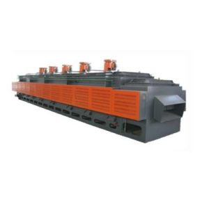 Continuous hot air mesh belt tempering furnace (1)