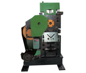 Angle steel punching and shearing machine