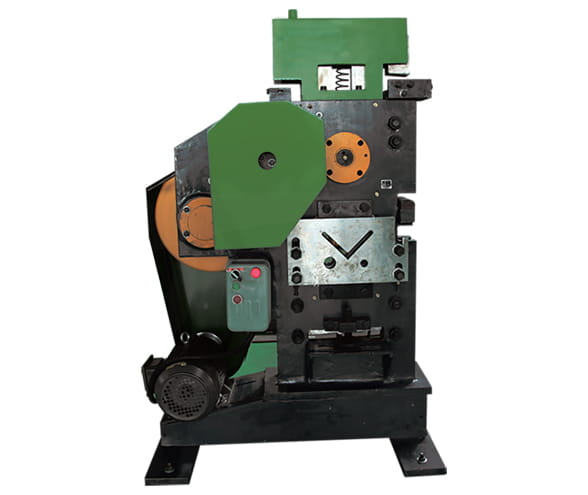 Angle steel punching and shearing machine