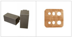 Brass busbar knurling and embossing mold
