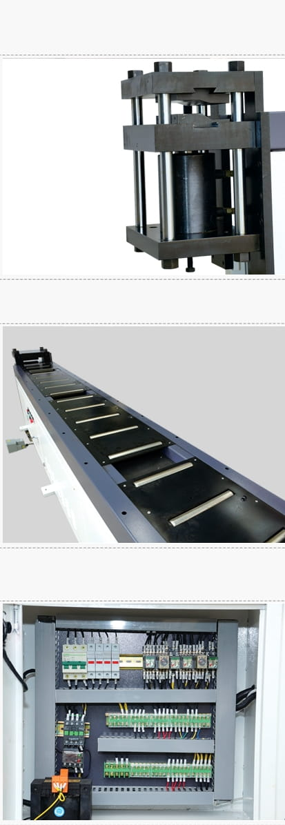 Busbar double-end bending machine Structure and Components