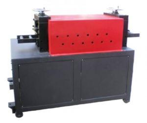 Busbar metal belt material straighten leveling machine