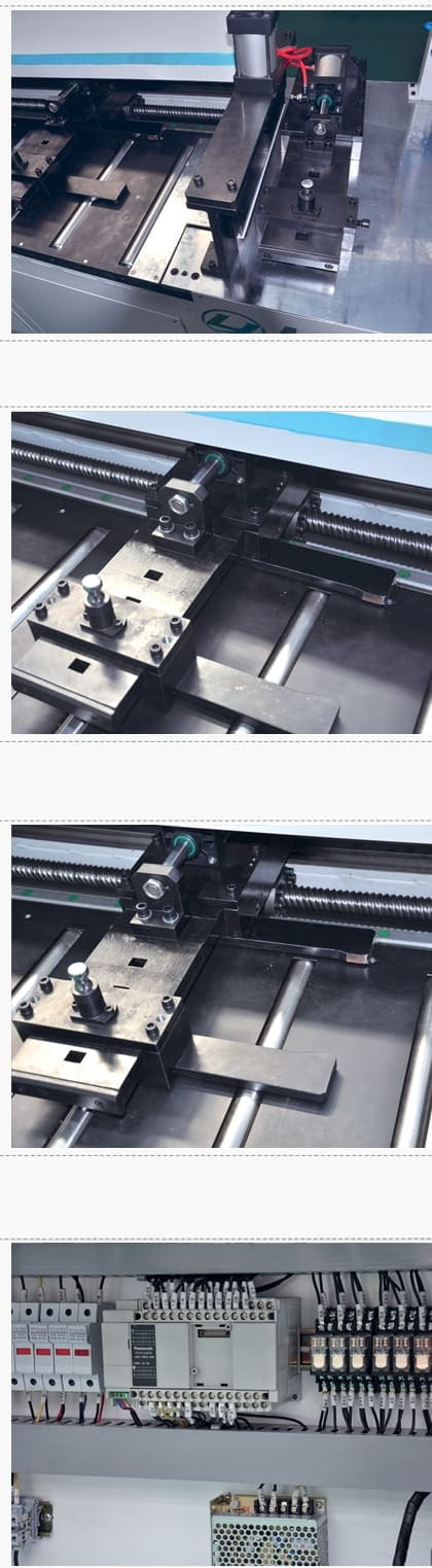 CNC Busbar Segment Sawing Machine Structure and Components