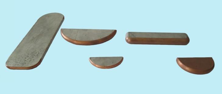 CNC busbar angle chamfer milling machine Produced Busbar Samples-1