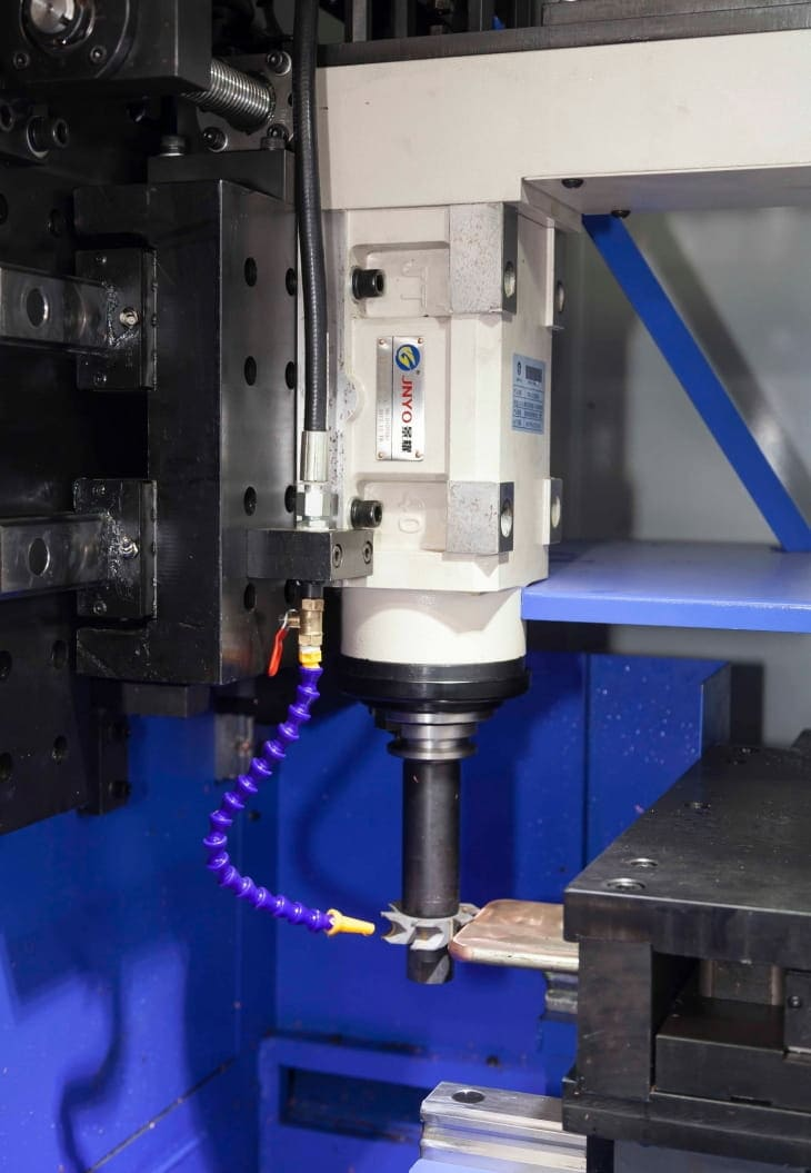 CNC busbar angle chamfer milling machine Structure and Components