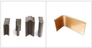 Copper bar flat bending-Horizontal bending mold tool