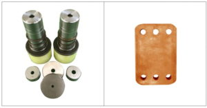 Copper bar round hole punching mold tool