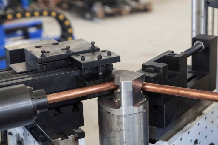 Copper rod shape forming machine Structure and Components-4