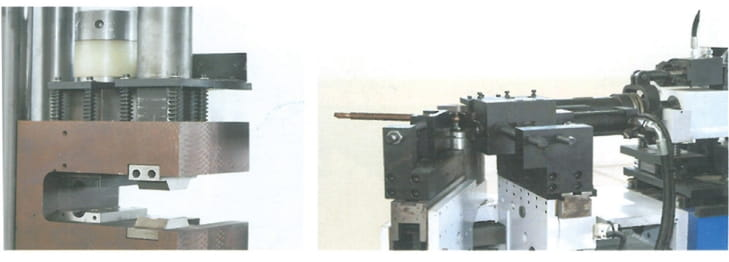 Copper rod shape forming machine Structure and Components