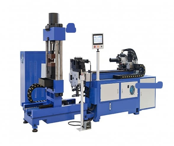 Copper rod shape forming machine2