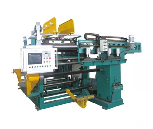Foil coil winding machine
