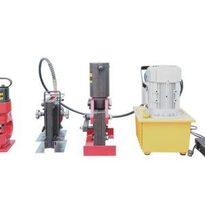 Portable copper bar processing machine