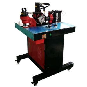 Simple busbar shearing punching bending machine