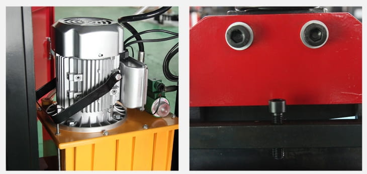 Simple busbar shearing punching bending machine Structure and Components-2