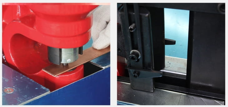 Simple busbar shearing punching bending machine Structure and Components-3