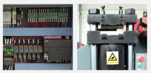 Three station multi functions bus bar making machine Structure and Components-3