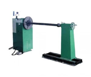 Transformer wire winding machine