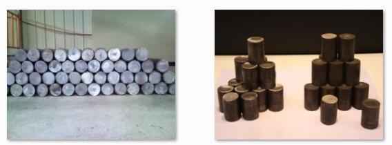 Precision hydraulic round steel cutting machine CutSamples