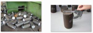 Precision hydraulic steel rod barcutting machine CutSamples