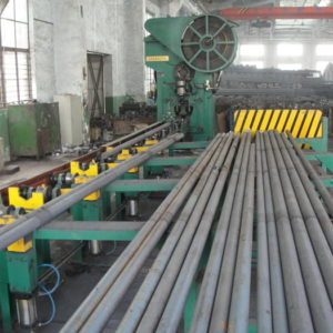 Steel rod bar billet cutting press machine