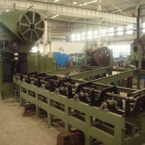 Steel rod billet cutting press