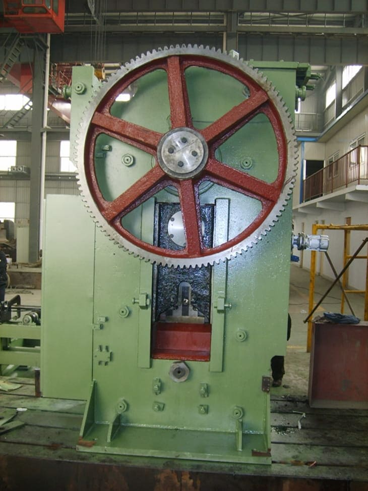 Steel rod billet cutting press Structure and Components-2