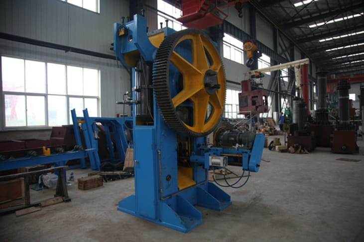 Steel rod billet cutting press Structure and Components-3
