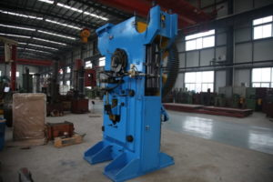 Steel rod billet cutting press Structure and Components