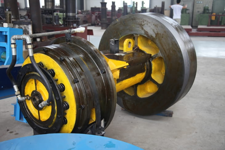 Steel rod billet cutting press Structure and Components-4