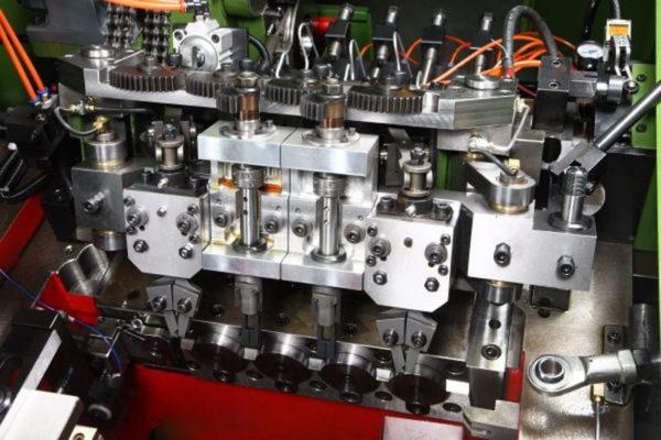 19B-3S Three Die Three Blow Bolt Maker pnumatic transfer clamp