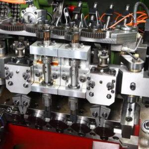 24B-3S Three Die Three Blow Bolt Maker pnumatic transfer clamp