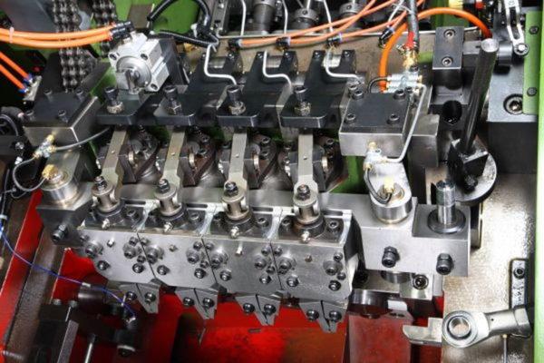 24B-3S Three Die Three Blow Bolt Maker pnumatic transfer finger