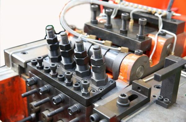 41B-3S Three Die Three Blow Bolt Maker rear pko
