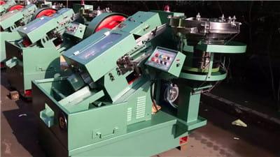 M10*200MM High Speed Thread Rolling Machine