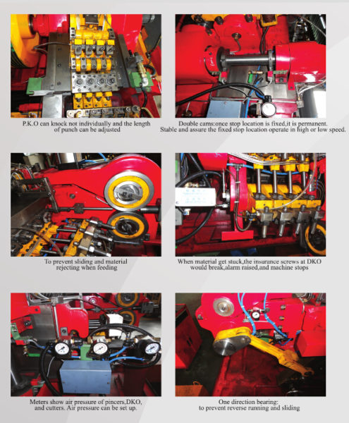 63S High Speed Bolt Cold Forging Machine structure 2