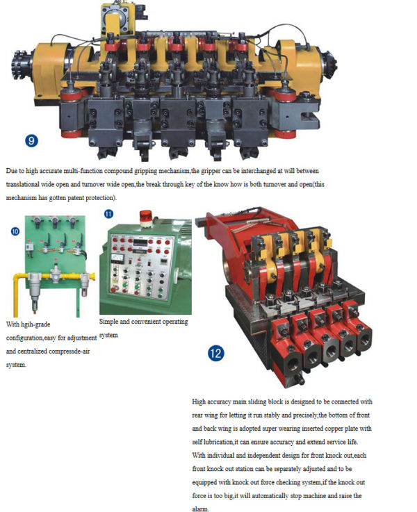 63S High Speed Bolt Cold Forging Machine structure 5