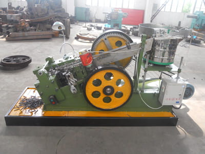 M10*100MM Common Speed Flat Die Bolt Thread Rolling Machine
