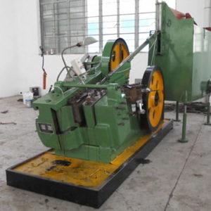 M12*130MM Common Speed Flat Die Bolt Thread Rolling Machine