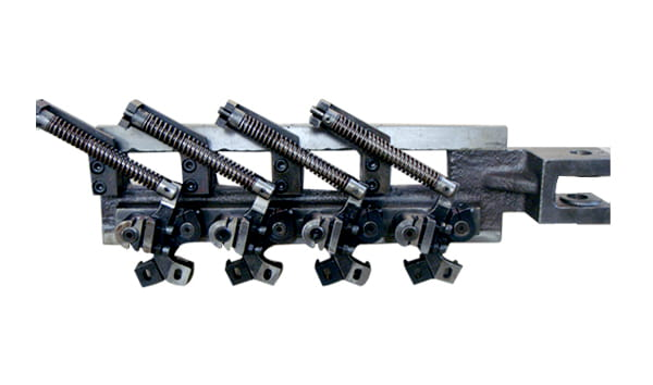 Spring clamps system