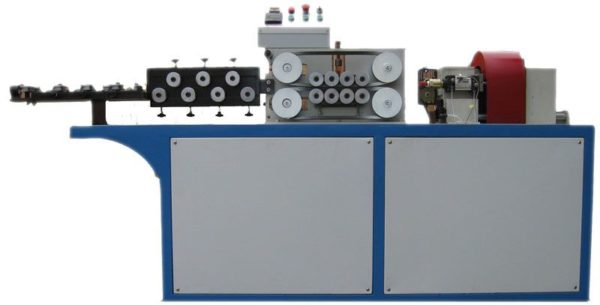 Coil and Steel bar straightening & cutting machine