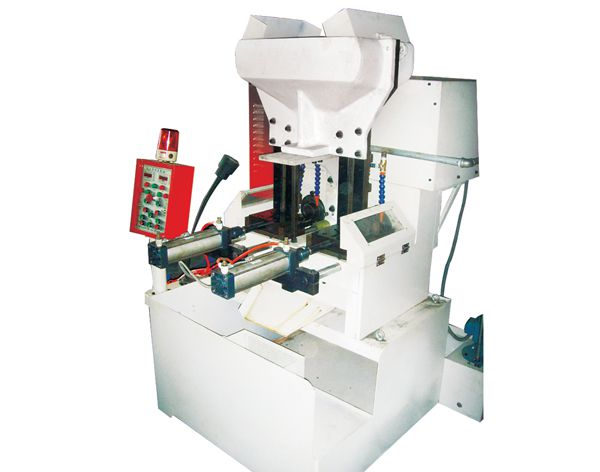 Double Spindle Flange & Hex Nut Tapping Machine