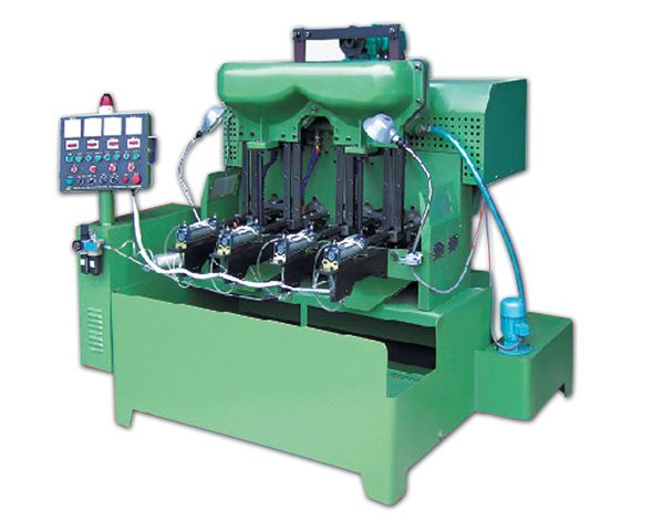 4 Spindle Flange and Hex Nut Automatic Tapping Machine