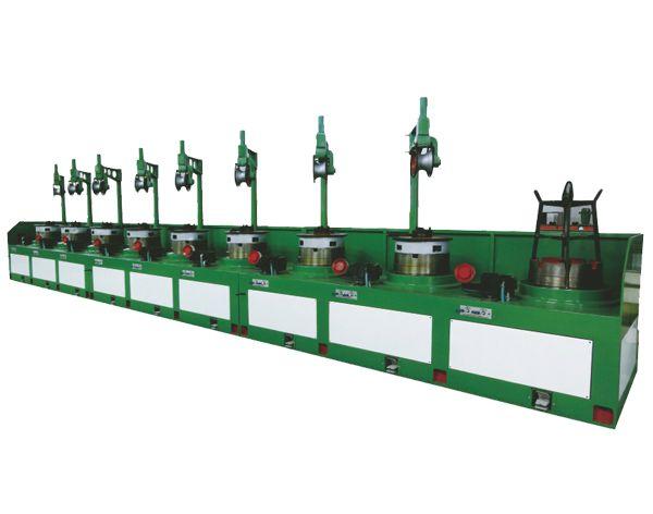 OTO Type wire drawing machine LW9/560 Controlied by PLC