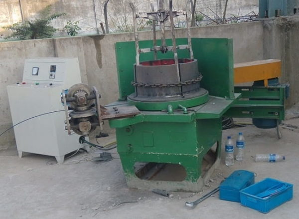 Spring Lock Washer Flat Wire Drawing Machine