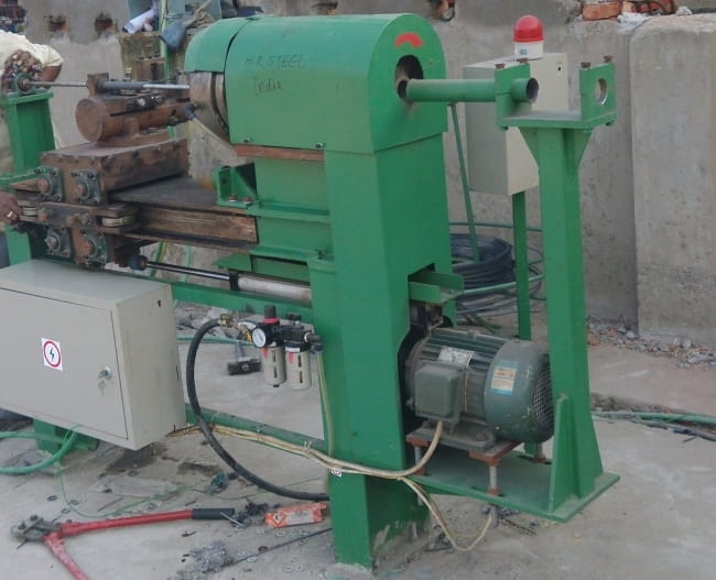 Spring Lock Washers Coil Rolling Machine structure