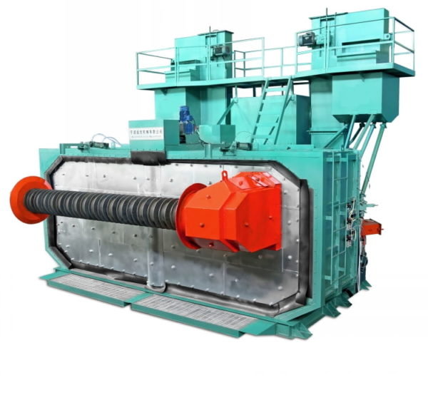 Automatic Steel Wire Polishing and De-rust Line