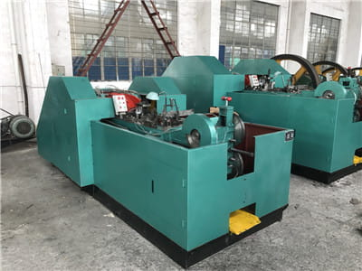 M10*150MM Two Die Three Blow Cold Forging Machine