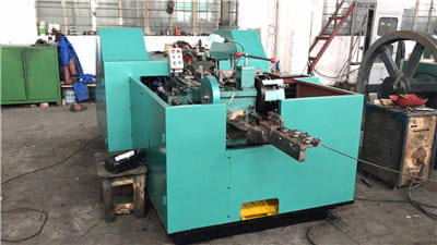 M16*200MM Two Die Three Blow Cold Forging Machine